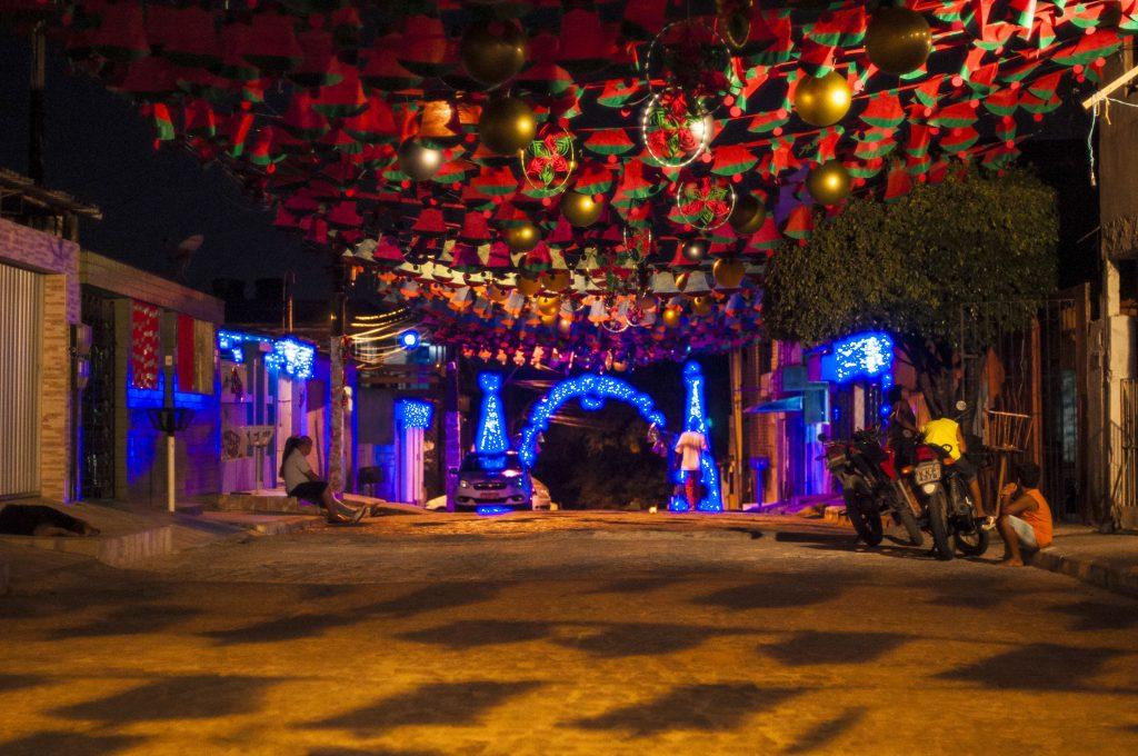 """Rua Vertentes dos Lírios uma das premiadas no Concurso """"Eu amo o Natal"""", instituído pela Prefeitura."""