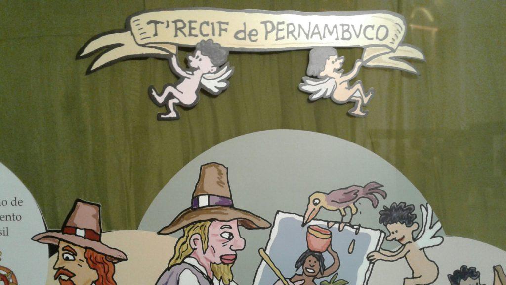 """Cerca de 80 escolas já agendaram visitas à imperdível exposição """"O Recife através dos tempos'."""